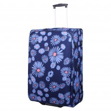 Tripp navy/cornflower 'Express Daisy' 2W large suitcase