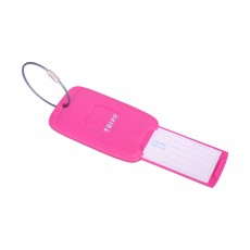 Tripp magenta 'Accessories' luggage tag