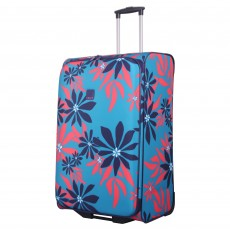 Tripp ultramarine/poppy 'Sunshine flower' large 2w case