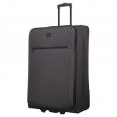 Tripp graphite 'Glide Lite III' 2-wheel large suitcase
