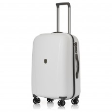 Tripp White 'Ultimate Lite II' Medium 4 Wheel Suitcase
