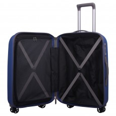 Tripp china blue 'Ultimate Lite' medium 4 wheel suitcase