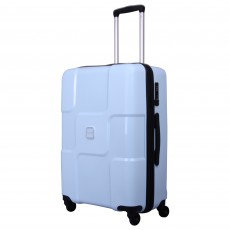 Tripp ice blue 'World' medium 4 wheel suitcase