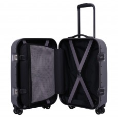 Tripp pewter 'Absolute Lite II 'cabin 4 wheel suitcase