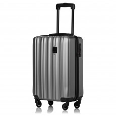 Tripp Pewter 'Retro' Cabin 4 Wheel Suitcase