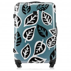 Tripp Black/Sage 'Bold Leaf' Hard Large 4W case