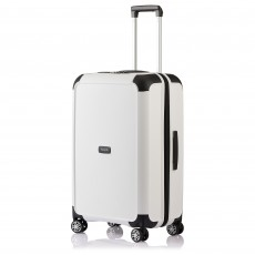Tripp White Medium 'Supreme' 4 Wheel Suitcase