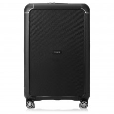 Tripp Black Large 'Supreme' 4 Wheel Suitcase