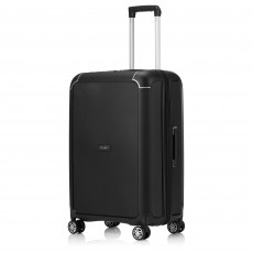 Tripp Black Medium 'Supreme' 4 Wheel Suitcase