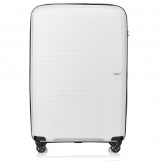 Tripp White 'Chic' Large 4 Wheel Suitcase