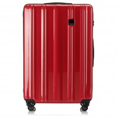 Tripp Red Gloss 'Retro' Large 4 Wheel Suitcase