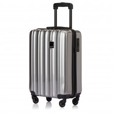 Tripp Platinum Gloss 'Retro' Cabin 4 Wheel Suitcase