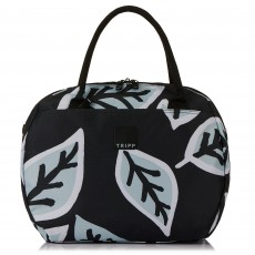 Tripp Ice Blue/Black 'Bold Leaf' Holdall