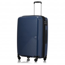 Tripp Denim 'Chic' Medium 4 Wheel Expandable Suitcase
