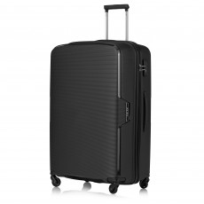 Tripp Black 'Escape' Large 4 Wheel Suitcase
