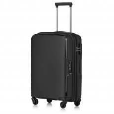 Tripp Black 'Escape' Cabin 4 Wheel Suitcase