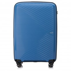 Tripp Sky Blue 'Chic' Medium 4 Wheel Expandable Suitcase