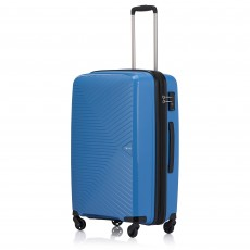 Tripp Sky Blue 'Chic' Cabin 4 Wheel Suitcase