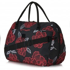 Tripp Slate/Watermelon 'Bloom' Large Holdall
