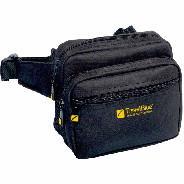Travel Blue-Metro Pouch-BLACK.
