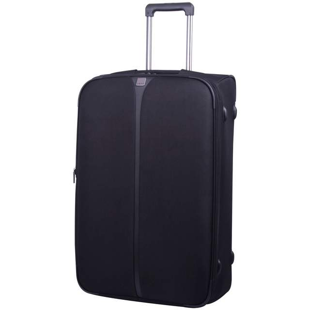 Superlite III Large 2 wheel Suitcase76cm BLACK..