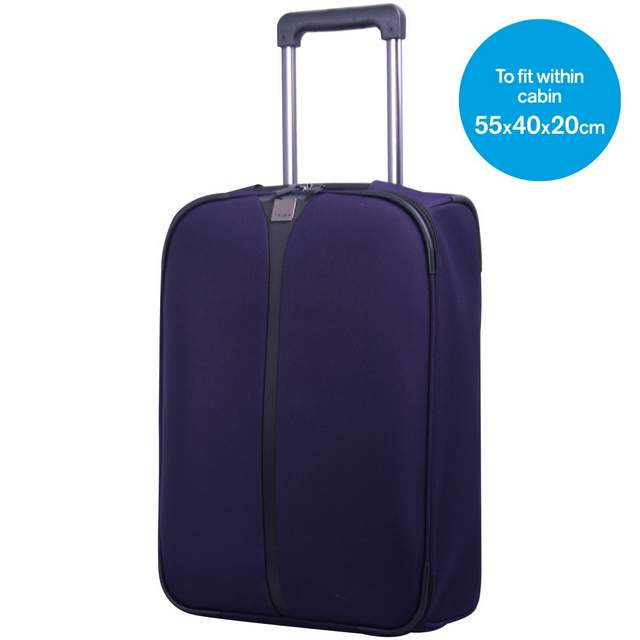 Superlite III Cabin 2 wheel Suitcase54cm GRAPE..