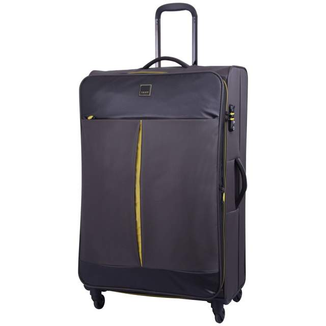 Style Lite Large 4 wheel Suitcase 83cm GRAPHITE.