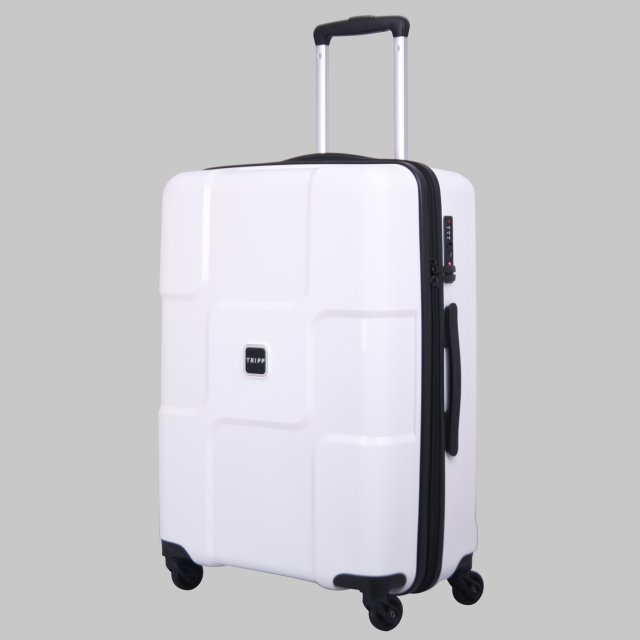World Medium 4 wheel Suitcase 65cm WHITE
