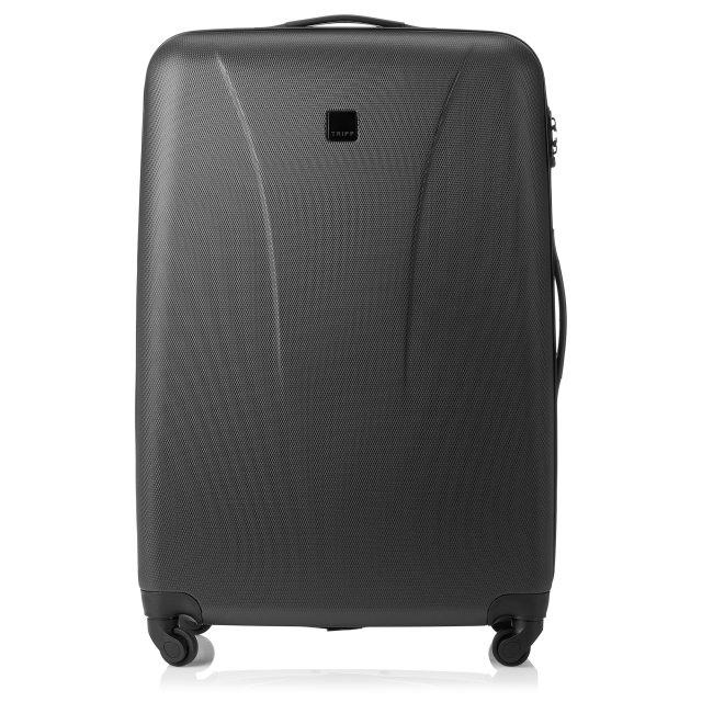 Tripp black 'Lite' 4 wheel large suitcase - Hard Suitcases - Tripp Ltd