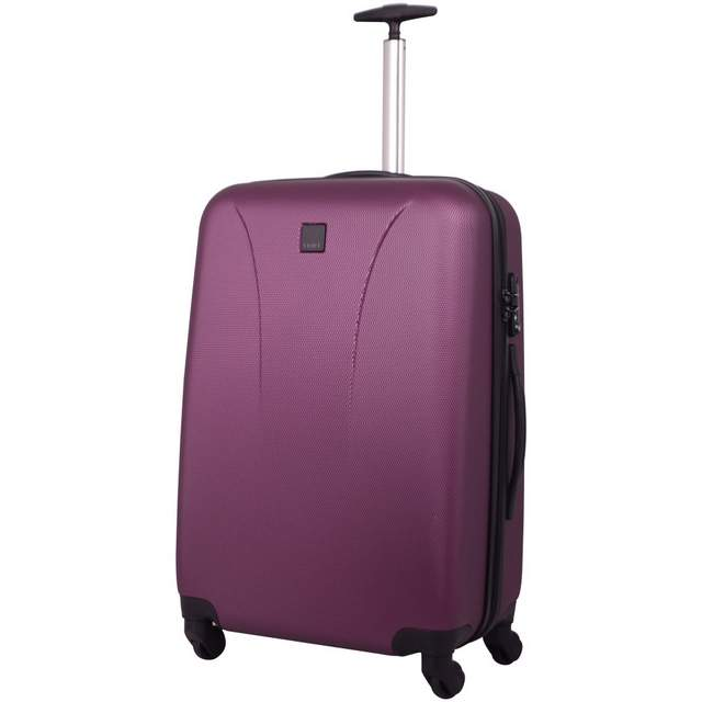 Lite 4W Medium 4 wheel Suitcase 69cm CRIMSON