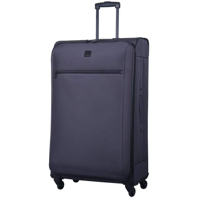 Full Circle Large 4 wheel Suitcase 83cm PUTTY