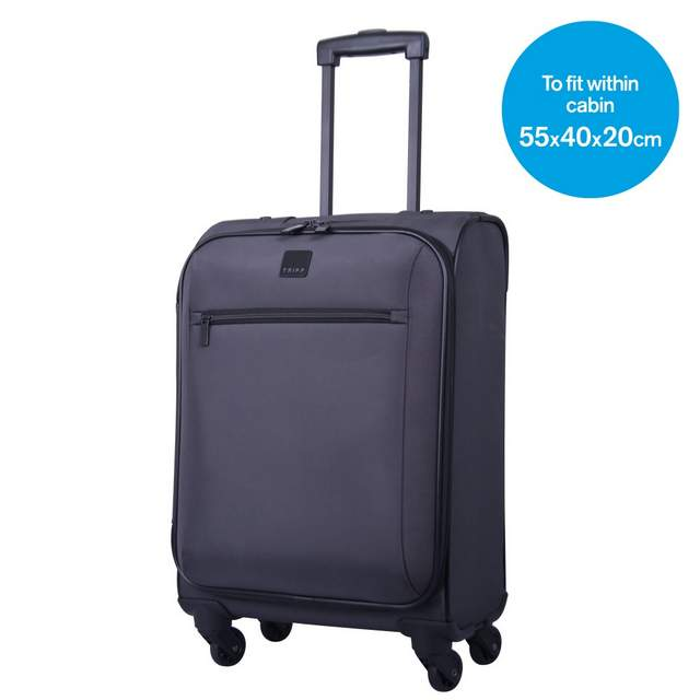 Full Circle Cabin 4 wheel Suitcase 55cm PUTTY