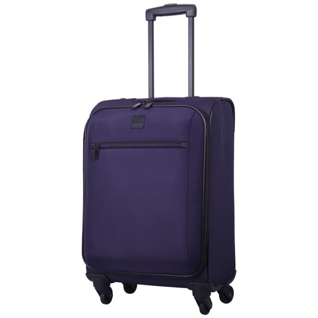 Full Circle Cabin 4 wheel Suitcase 55cm GRAPE