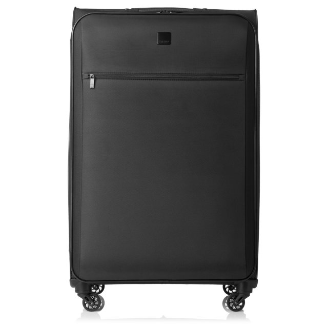 Full Circle Large 4 wheel Suitcase 83cm BLACK