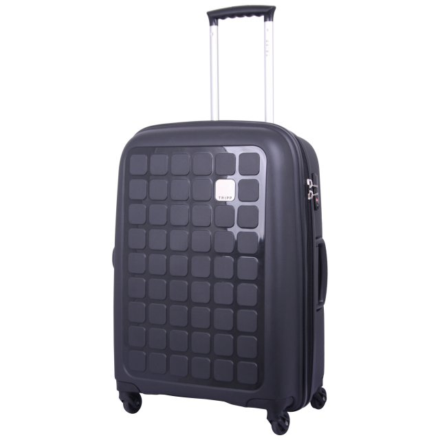 Holiday 5 Medium 4 wheel Suitcase 65cm BLACK