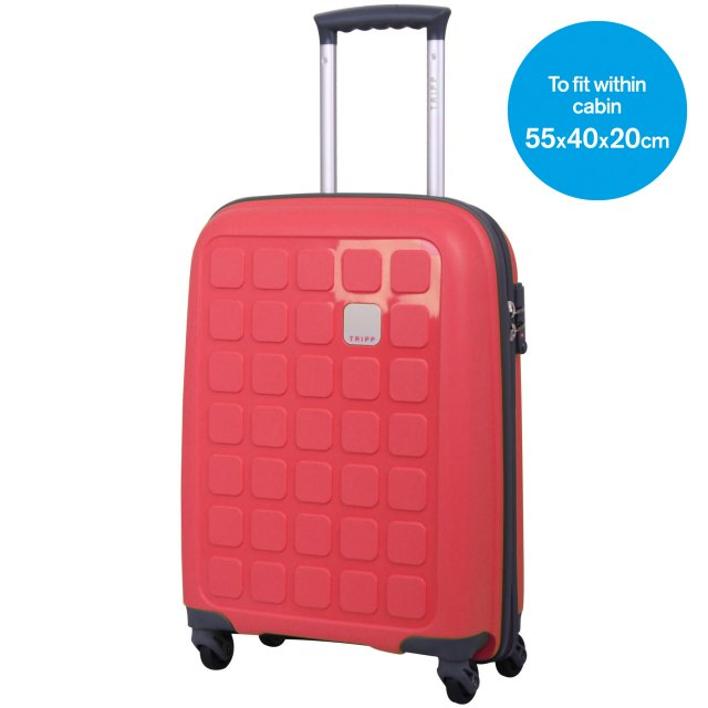 Holiday 5 Cabin 4 wheel Suitcase 55cm WATERMELON