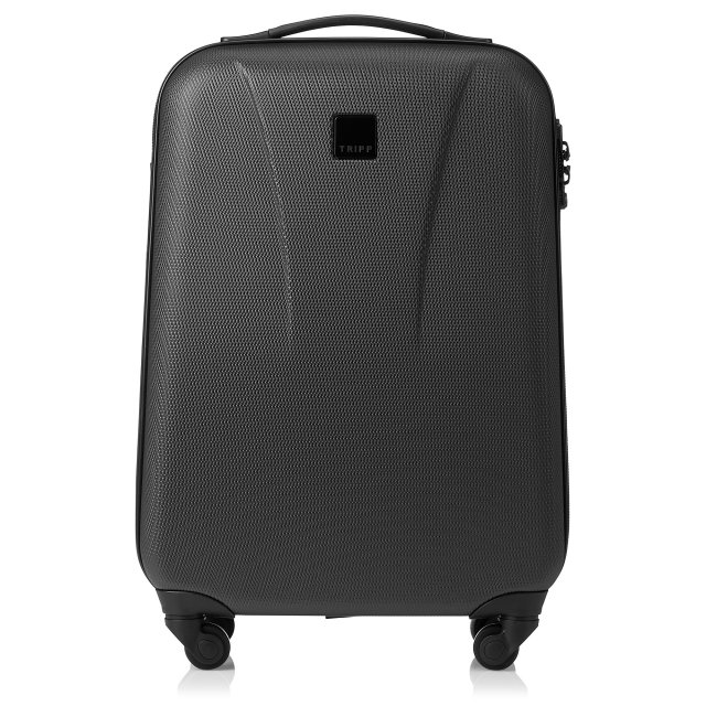 Tripp black 'Lite' 4 wheel cabin suitcase - Hard Suitcases - Tripp Ltd