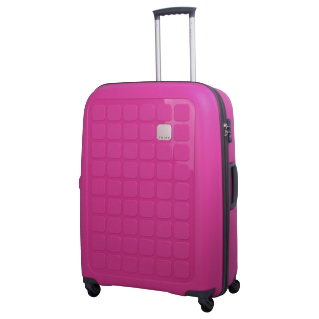 Holiday 5 Large 4 wheel Suitcase 75cm MAGENTA