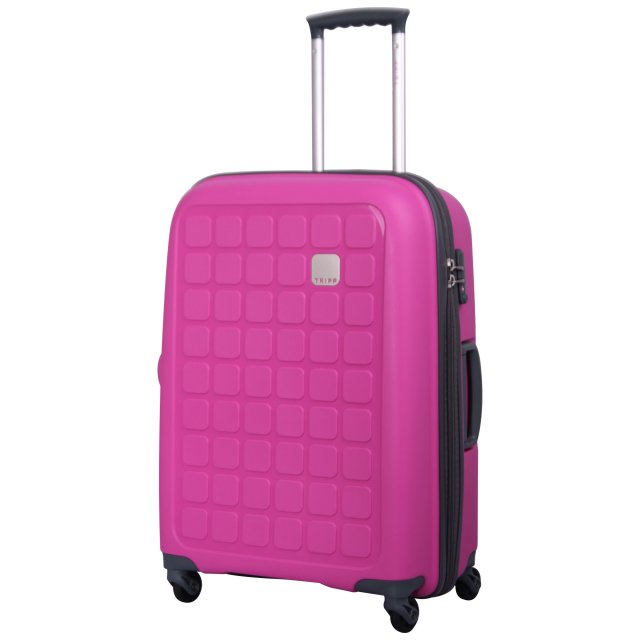 Holiday 5 Medium 4 wheel Suitcase 65cm MAGENTA