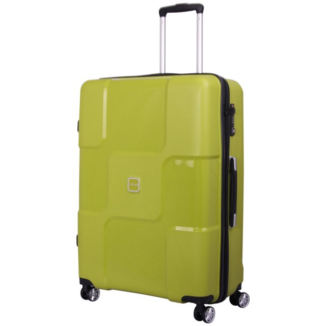 Tripp chartreuse 'World' 4 wheel large suitcase - Hard Suitcases ...