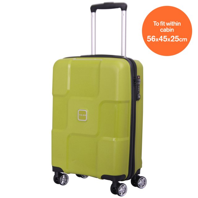 World Cabin 4 wheel Suitcase 55cm CHARTREUSE