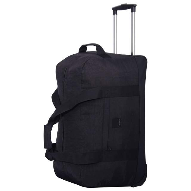 Holiday Bags Large Wheel Duffle BLACK