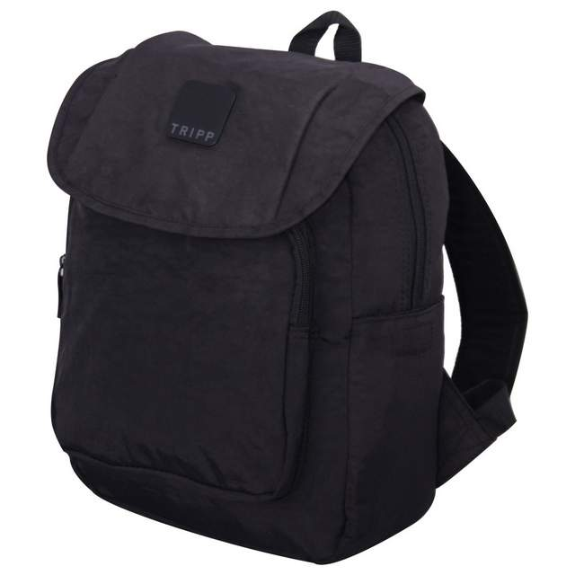 Holiday Bags Flapover Backpack BLACK