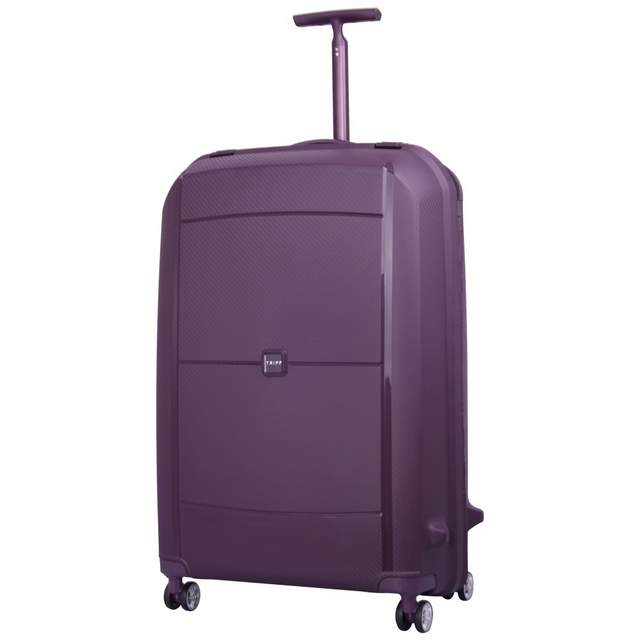 Superlock Large 4 wheel Suitcase 77cm PLUM