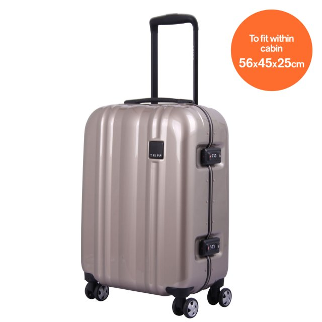 Absolute Lite II Cabin 4 wheel SC 55cm BRONZE..