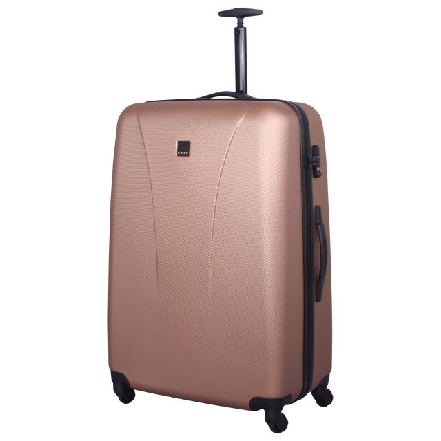 Tripp rose gold 'Lite' 4 wheel large suitcase - Hard Suitcases ...