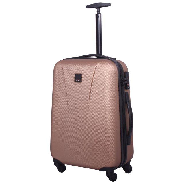 Tripp rose gold 'Lite' 4 wheel cabin suitcase - Hard Suitcases ...