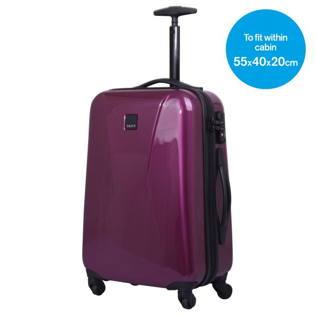 Chic Cabin 4 wheel Suitcase 55cm MULBERRY