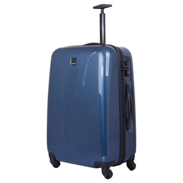 Chic Medium 4 wheel Suitcase 69cm OCEAN BLUE
