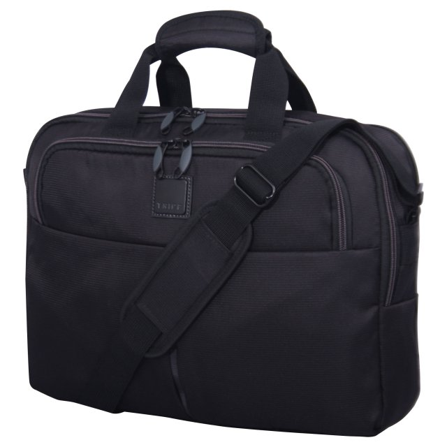 Style Lite Business Laptop Messenger BLACK.